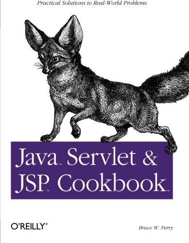 9780596005726: Java Servlet & JSP Cookbook