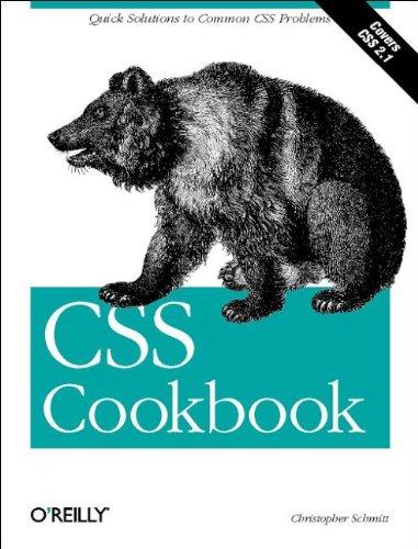 9780596005764: CSS Cookbook