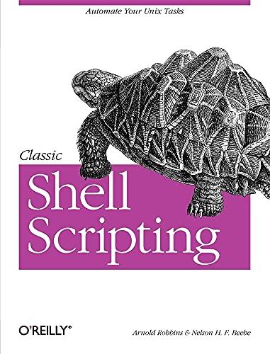 9780596005955: Classic Shell Scripting