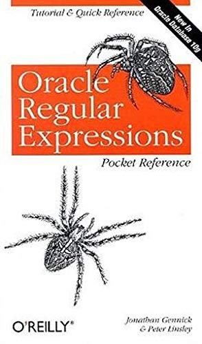 9780596006013: Oracle Regular Expressions Pocket Reference