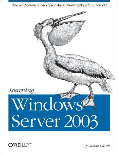 9780596006242: Learning Windows Server 2003