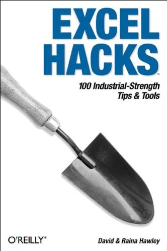 9780596006259: Excel Hacks: 100 Industrial Strength Tips and Tools