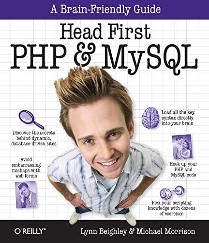 9780596006303: Head First PHP & MySQL (A Brain-Friendly Guide)