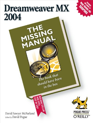 9780596006310: Dreamweaver MX 2004: The Missing Manual (The Missing Manuals Series)