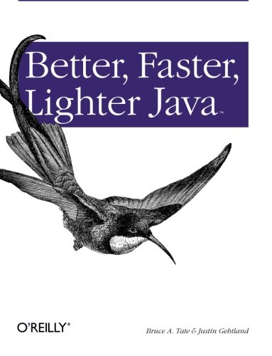 Better, Faster, Lighter Java.