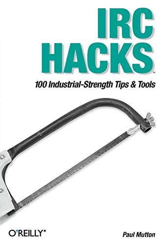 9780596006877: IRC Hacks