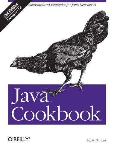 9780596007010: Java Cookbook 2e