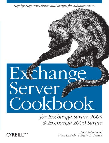 9780596007171: Exchange Server Cookbook: For Exchange Server 2003 and Exchange 2000 Server