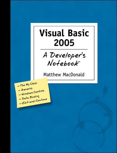 9780596007263: Visual Basic 2005: A Developer's Notebook