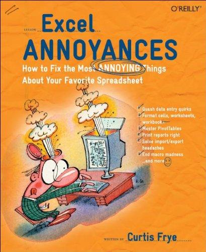 9780596007287: Excel Annoyances