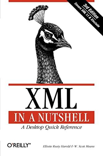 9780596007645: XML in a Nutshell