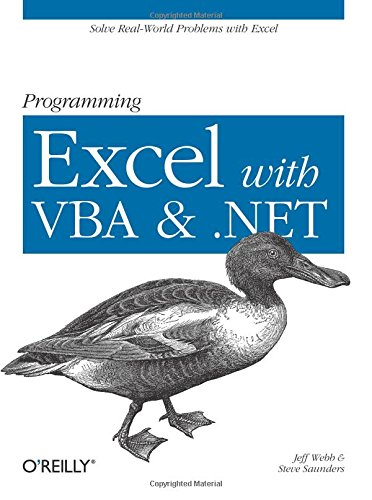 9780596007669: Programming Excel with VBA and .NET: Solve Real-World Problems with Excel