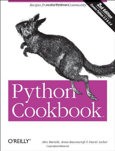 9780596007973: Python Cookbook