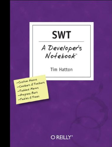 9780596008383: SWT: A Developer's Notebook