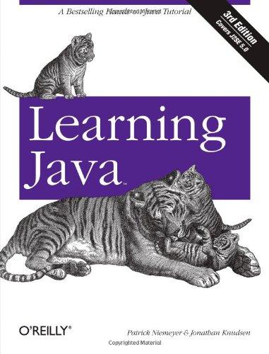 9780596008734: Learning Java