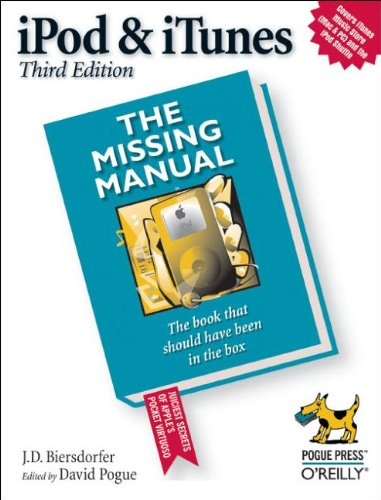 9780596008772: iPod and iTunes: The Missing Manual