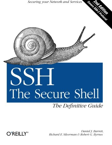 SSH, The Secure Shell: The Definitive Guide: Daniel J. Barrett;