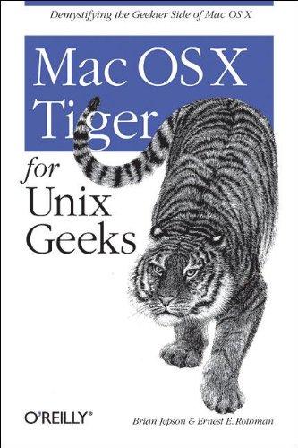 9780596009120: Mac OS X Tiger for Unix Geeks