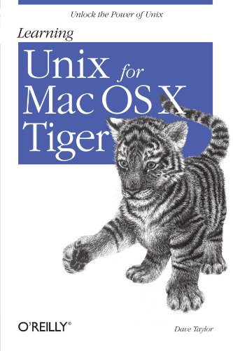 9780596009151: Learning Unix for Mac OS X Tiger