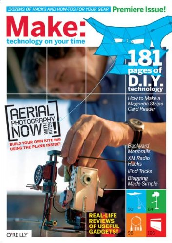 9780596009229: MAKE: Technology on Your Time Vol. 1