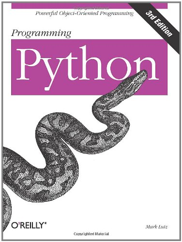 9780596009250: Programming Python