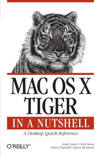 9780596009434: Mac OS X Tiger in a Nutshell: A Desktop Quick Reference (In a Nutshell (O'Reilly))