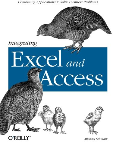 9780596009731: Integrating Excel and Access: Combining Applications to Solve Business Problems
