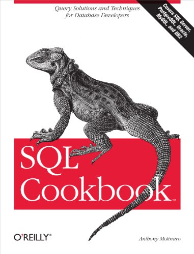 9780596009762: SQL Cookbook: Query Solutions and Techniques for Database Developers (Cookbooks (O'Reilly))