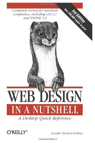 9780596009878: Web Design in a Nutshell: A Desktop Quick Reference