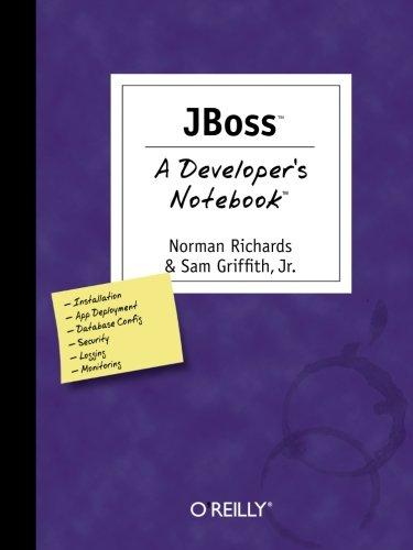9780596100070: JBoss: A Developer's Notebook