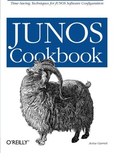 9780596100148: JUNOS Cookbook (Cookbooks)