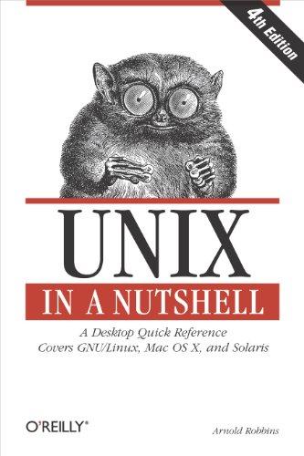 9780596100292: Unix in a Nutshell, Fourth Edition