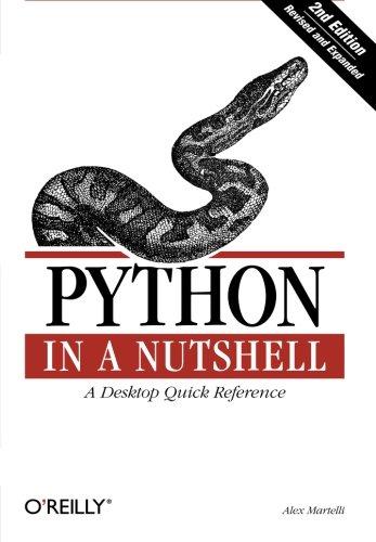 9780596100469: Python in a Nutshell