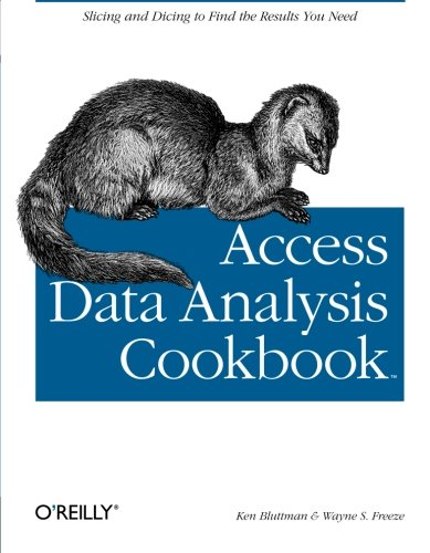 9780596101220: Access Data Analysis Cookbook (Cookbooks)