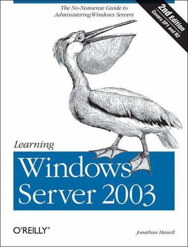 9780596101237: Learning Windows Server 2003