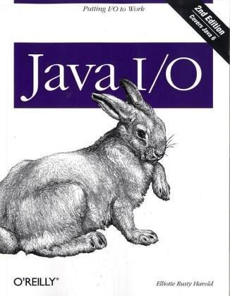 9780596101268: Java I/O
