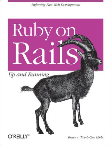 Ruby on Rails: Up and Running (0596101325) by Bruce Tate; Curt Hibbs