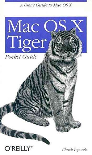 9780596101411: [(Mac OS X Tiger Pocket Guide)] [by: Chuck Toporek]