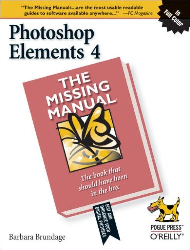 9780596101589: Photoshop Elements 4: The Missing Manual