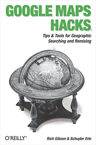 9780596101619: Google Maps Hacks