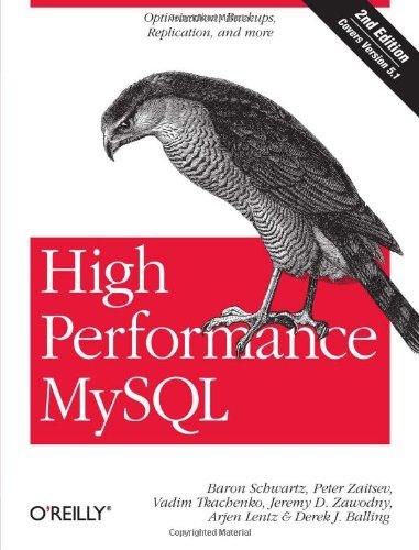 9780596101718: High Performance MySQL