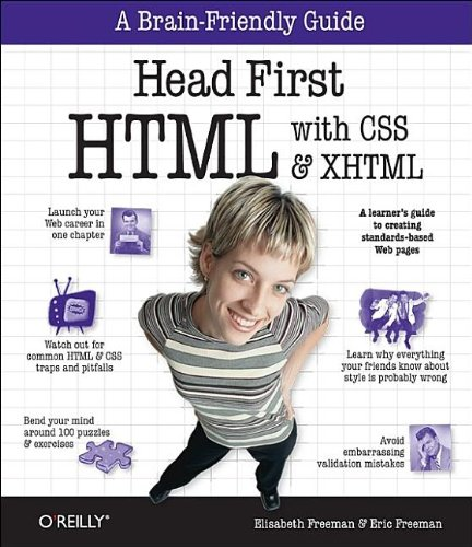 9780596101978: Head First HTML with CSS & XHTML
