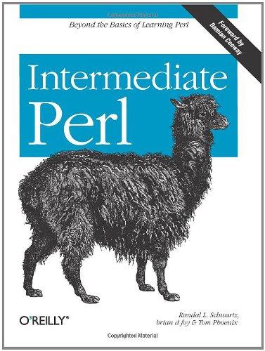 9780596102067: Intermediate Perl