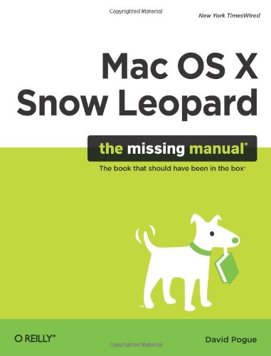 9780596153281: Mac OS X Snow Leopard: The Missing Manual