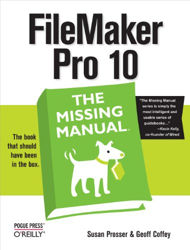 9780596154233: FileMaker Pro 10: The Missing Manual
