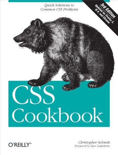9780596155933: CSS Cookbook