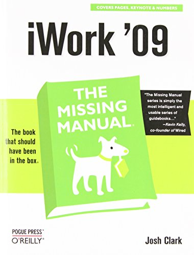 9780596157586: iWork '09: The Missing Manual (Missing Manuals)