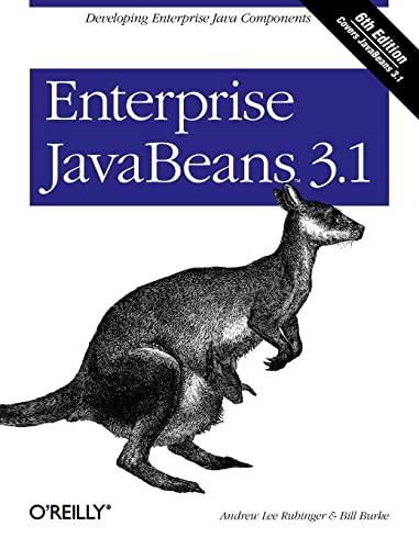 9780596158026: Enterprise JavaBeans 3.1