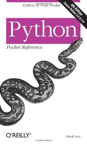 9780596158088: Python Pocket Reference: Python in Your Pocket (Pocket Reference (O'Reilly))