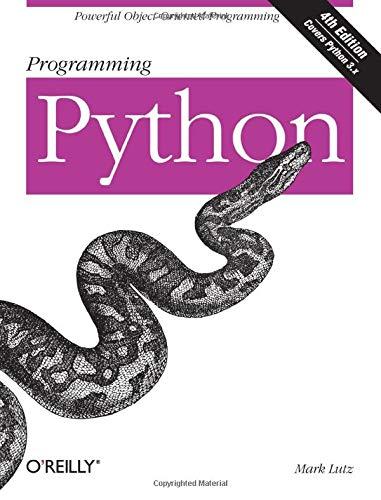 9780596158101: Programming Python